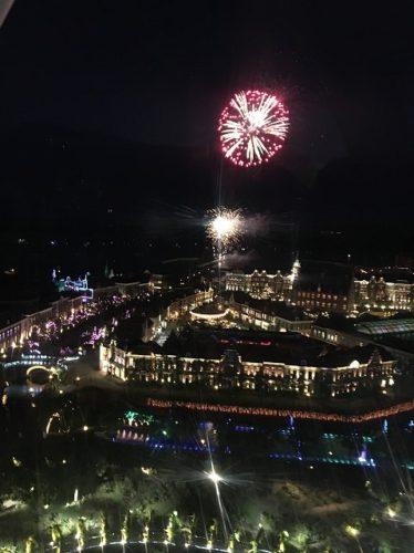 ハウステンボス夏一番花火大会観覧車からの写真2