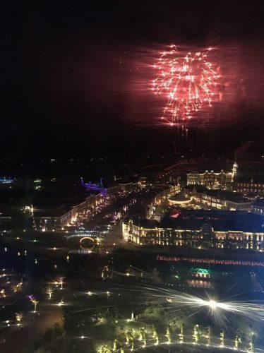 ハウステンボス夏一番花火大会観覧車からの写真3