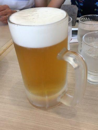 長崎空港つばきの生ビール