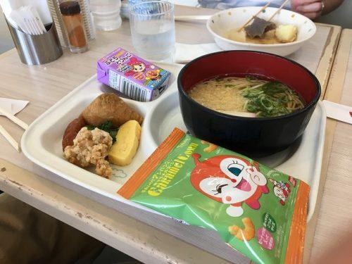 長崎空港つばき お子様うどん