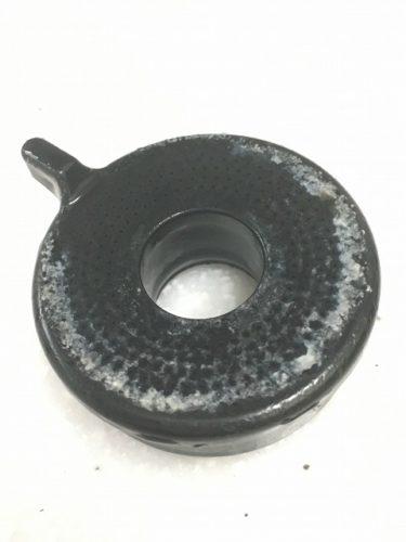 蛇口(シャワーヘッド)の先端部 クエン酸除去前