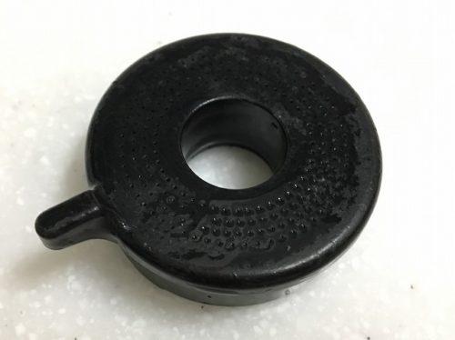 蛇口(シャワーヘッド)の先端部 クエン酸除去後