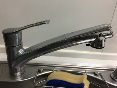 水栓シャワーヘッド型