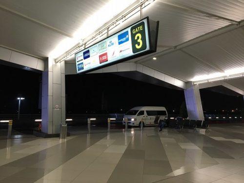 ジャカルタエアポートホテル連絡バス乗り場